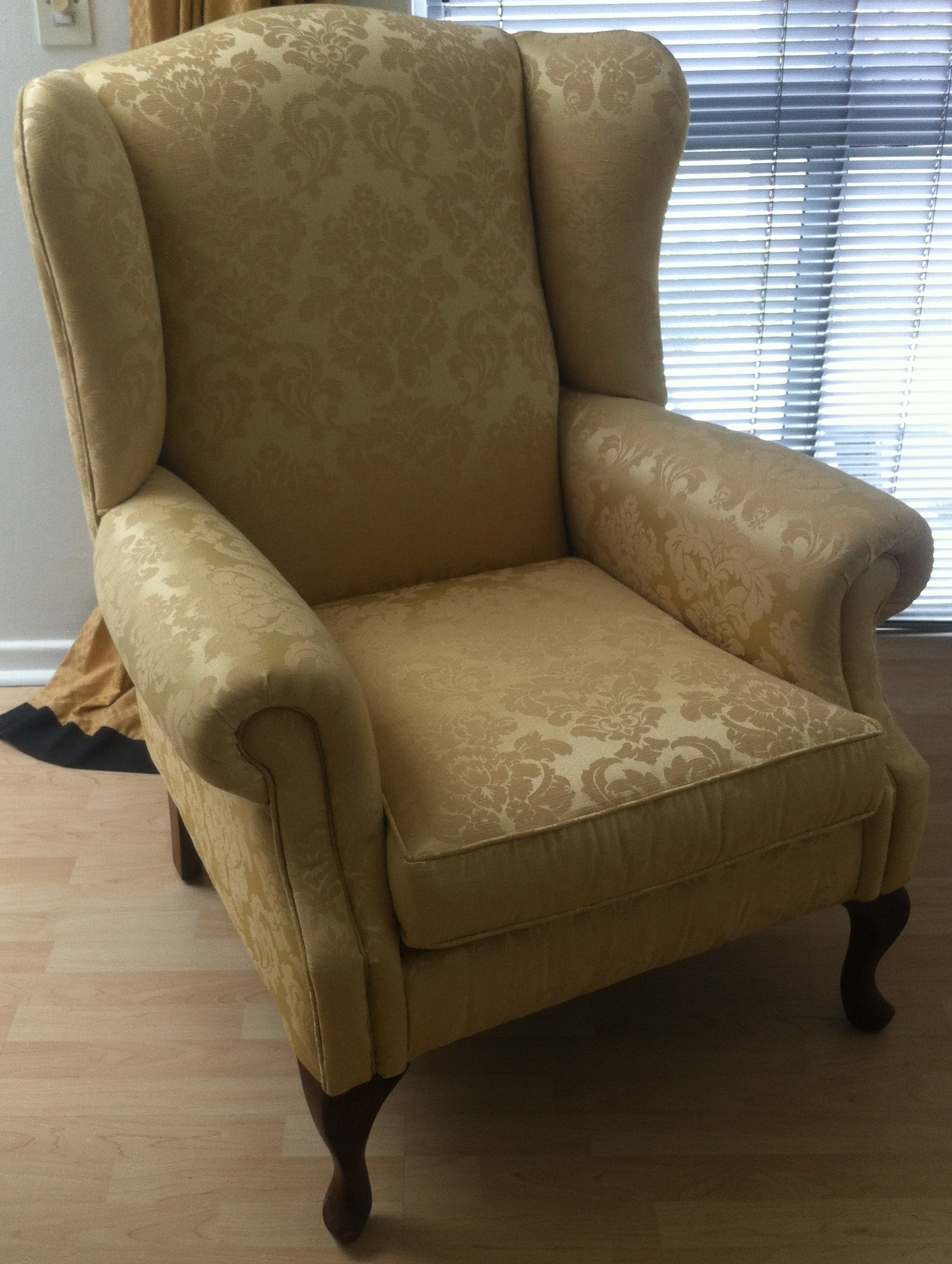 Wingback chair reupholstery upholstery cape town for Recover furniture cape town