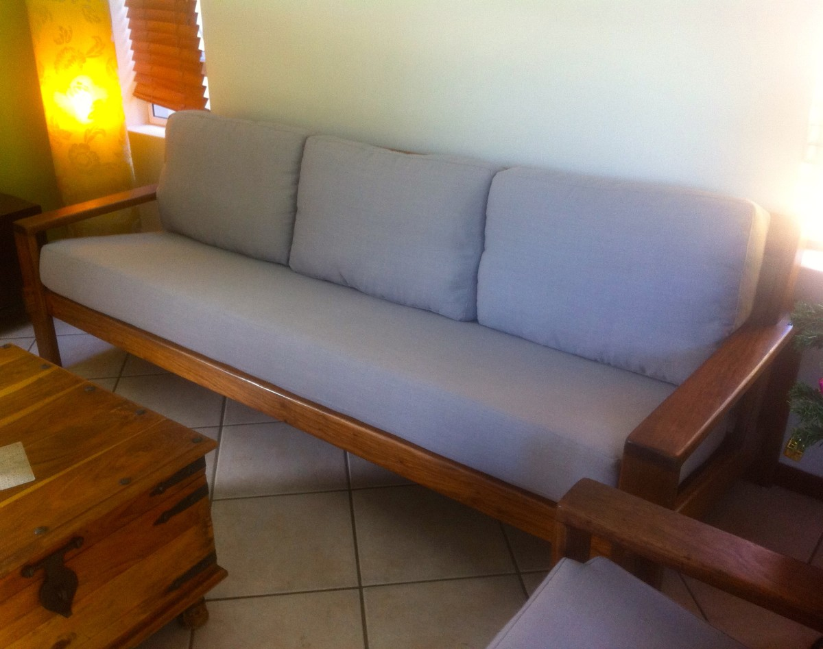 Upholstered couch cushions upholstery cape town for Recover furniture cape town