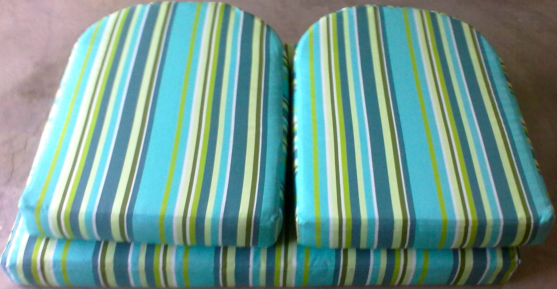 fabric outdoor cushions blue Upholstery Cape Town
