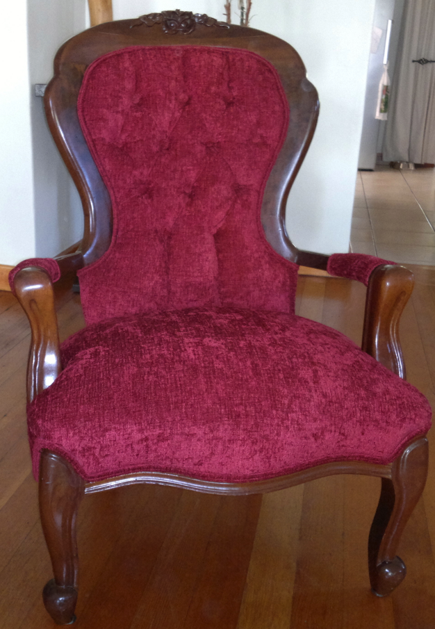 Reupholstery of old fashioned chairs upholstery cape town for Recover furniture cape town