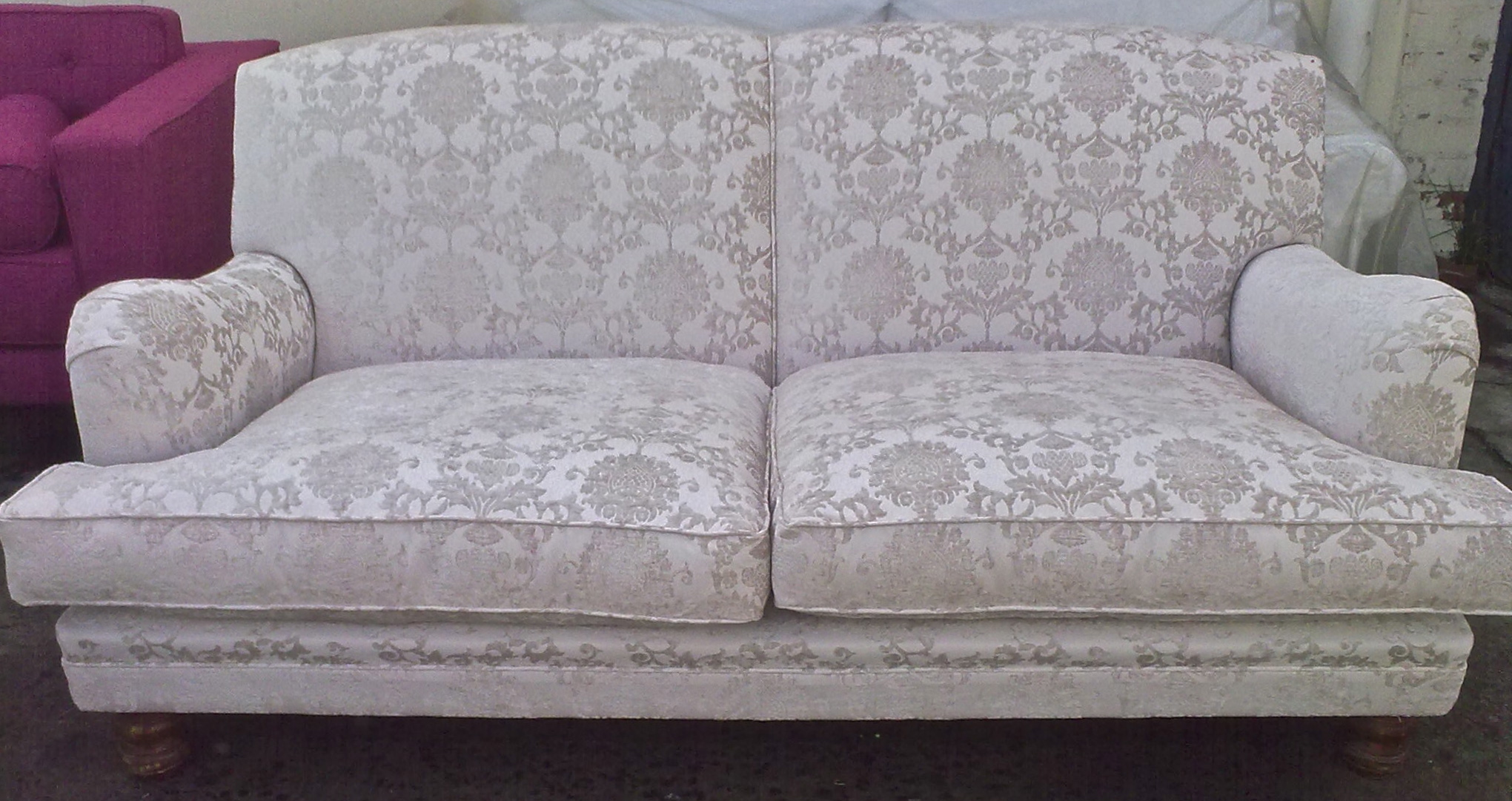 Fabric sofa grey upholstery cape town for Recover furniture cape town