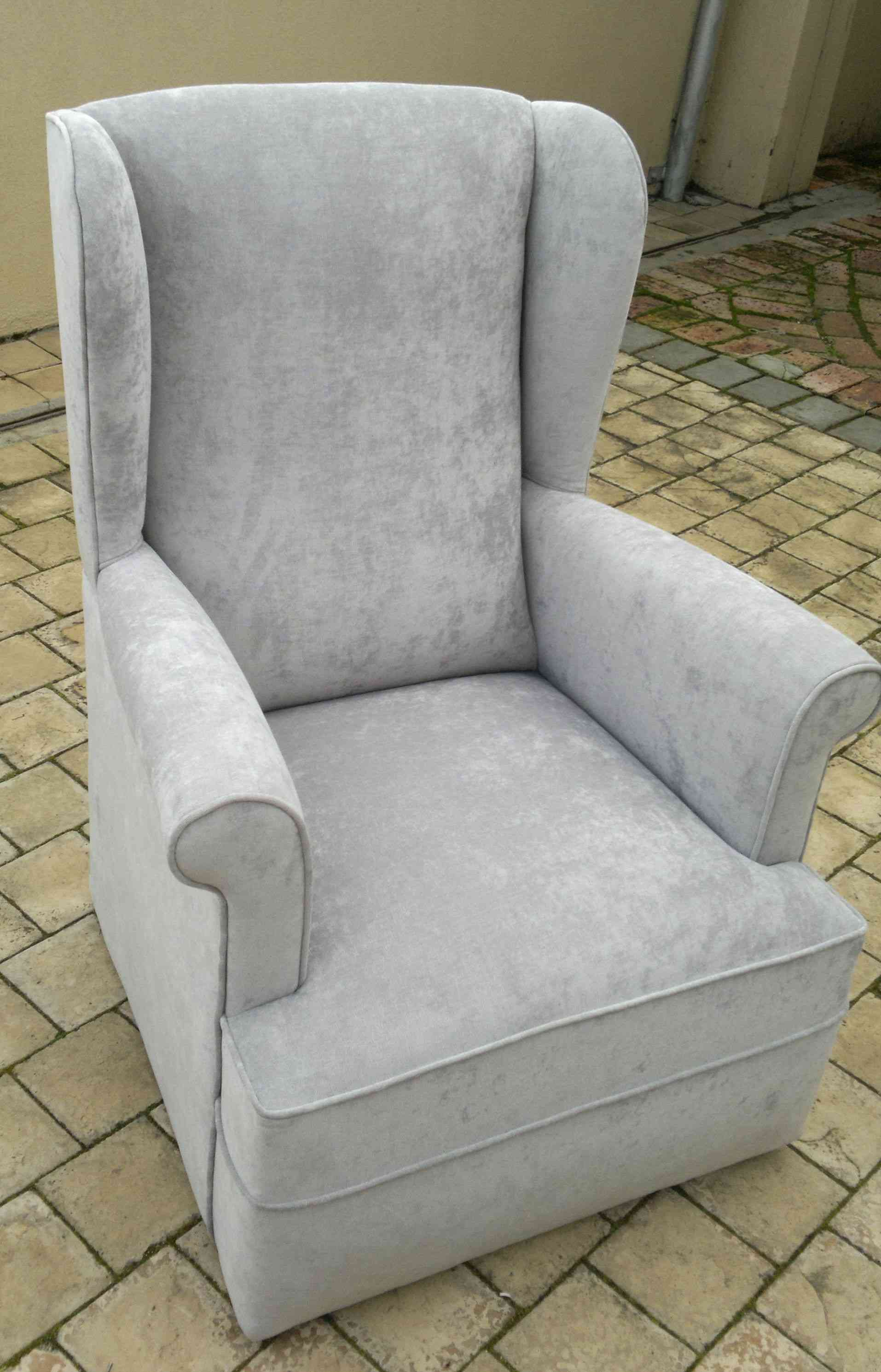 Vintage wingback chair upholstery cape town for Recover furniture cape town