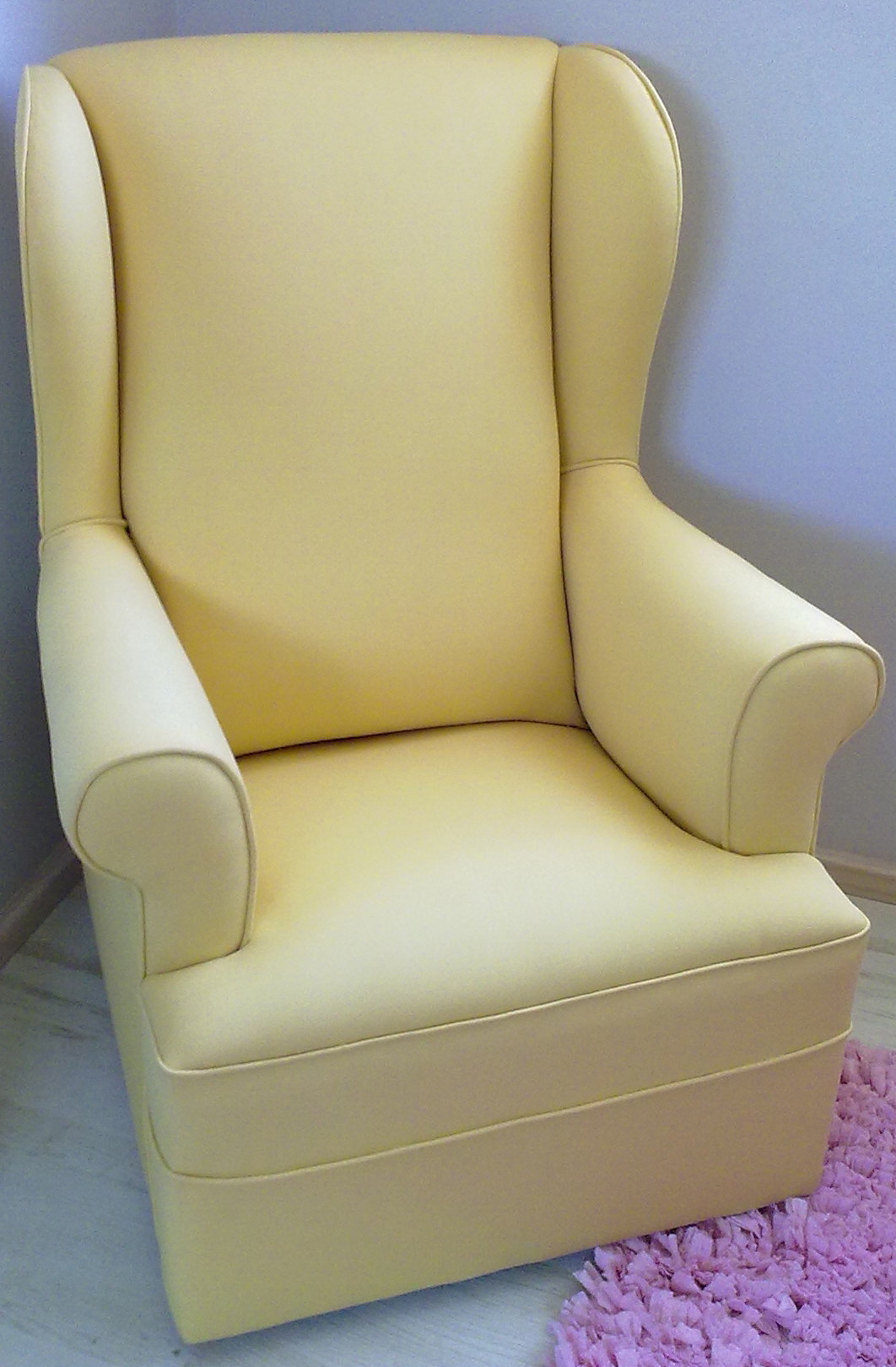 Wingback nursing rocking chair upholstery cape town for Recover furniture cape town