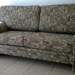 fabric sofa dark green