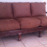 Leather Couch cushions