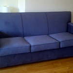 Reupholstering of Sleeper Couch