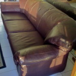 Reupholster Leather Lounge Suite