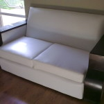 Vintage Leather Sofa Reupholstery